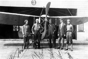 Los primeros pilotos aviadores militares de Mxico