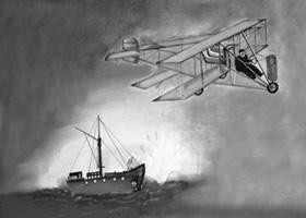 14 de abril de 1914 primera batalla aeronaval del mundo
