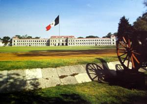 Ex-colegio Militar de Popotla